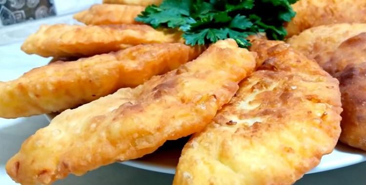 Ļoti vienkārša garšīgu čebureku recepte vīramātes gaumē