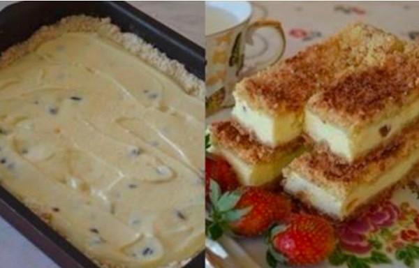 Smilšu mīklas pīrāgs no biezpiena. Labākais, ko var pagatavot no biezpiena
