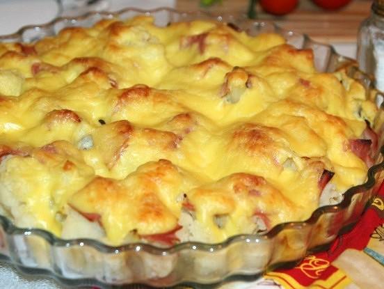 Aromātisks ziedkāpostu sacepums, pagatavojams bez īpašas piepūles – derēs tiem, kam nepatīk ilgi gatavot.