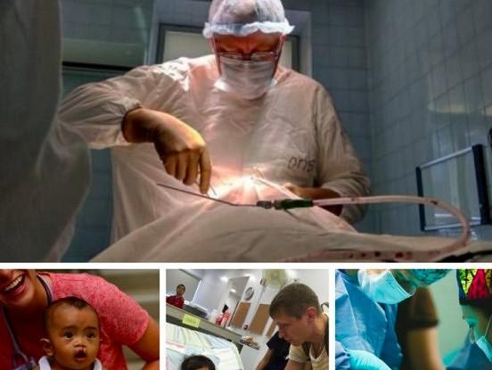 Ķirurgs jau vairākus gadus izmanto savu atvaļinājumu, lai veiktu bezmaksas operācijas bērniem.