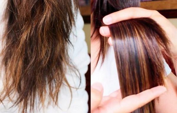 Viegls paņēmiens, kā mitrināt sausus matus un uz visiem laikiem atbrīvoties no matu galu šķelšanās.