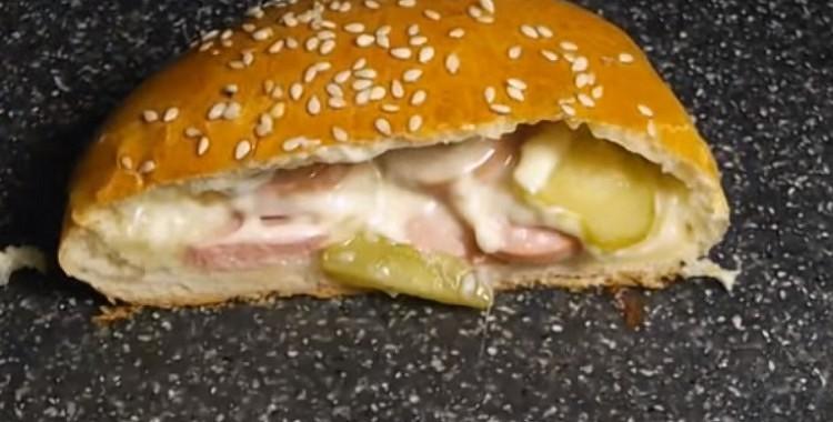 Bulciņa ar noslēpumu – lieliska ideja tiem, kas iecienījuši burgerus.