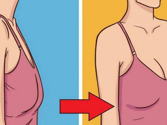 Kā padarīt tvirtas krūtis ar vingrinājumu palīdzību