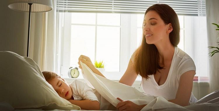 Jo agrāk bērns ies gulēt, jo laimīgāka būs mamma
