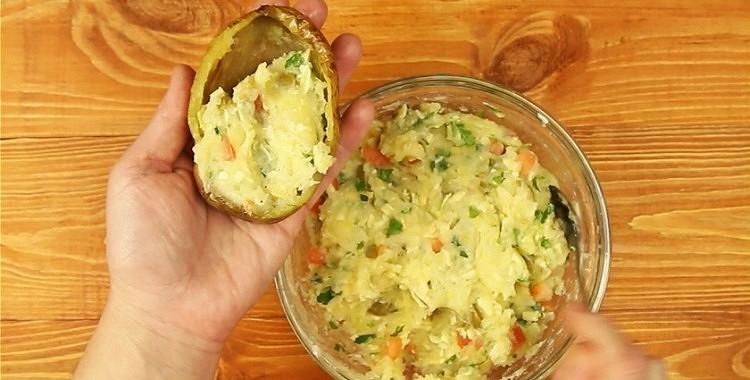 Pildīti kartupeļi