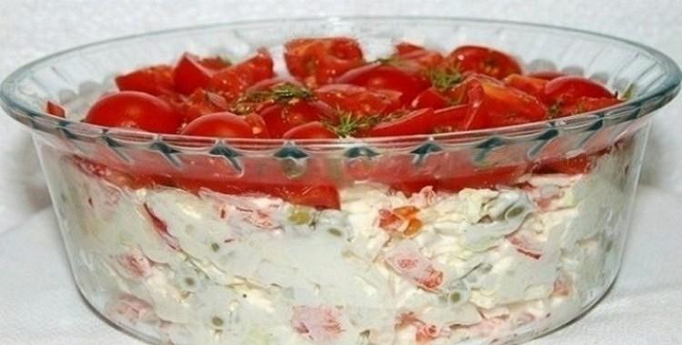 Vistas gaļas salāti ar dārzeņiem, kas ir pārāki par rosolu un siļķi kažokā!