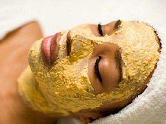 Pupiņu sejas maska