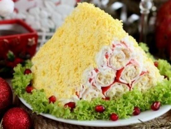 Krabju nūjiņu salāti