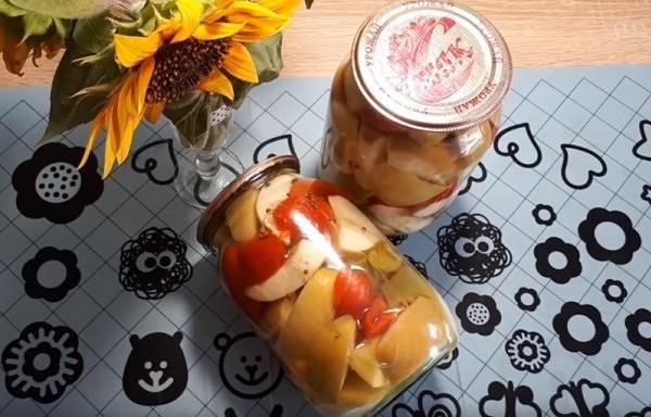 Āboli un saldie pipari sīrupā