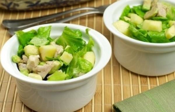 Tītara – avokado salāti