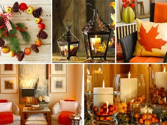 Kā radīt rudenīgu interjera noskaņu mājās?