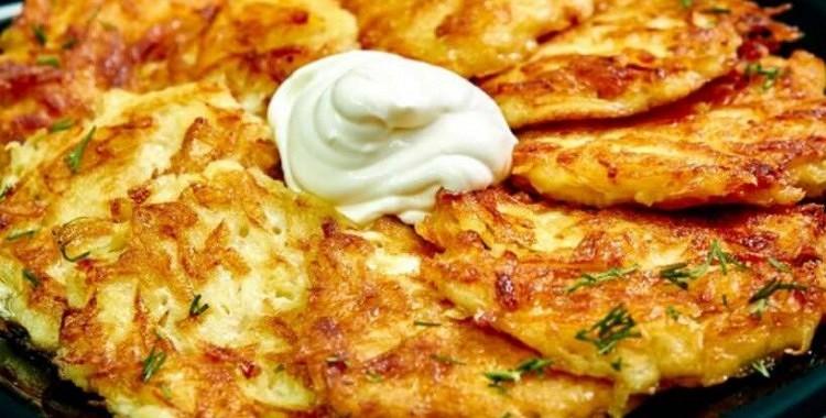 Kartupeļu pankūkas vācu gaumē ar kraukšķīgu garozu: recepte, kuru man prasa visi!