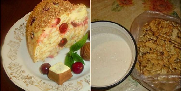 Skābā krējuma kūka, kuras pagatavošanai nepieciešamas 15 minūtes un tā nav jācep!