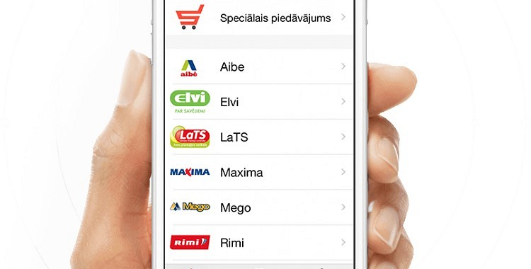 Latvijā radīta mobilā aplikācija Sale - iepērcies izdevīgi