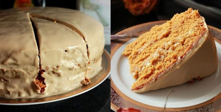Veclaicīga kūka Vermontas gaumē