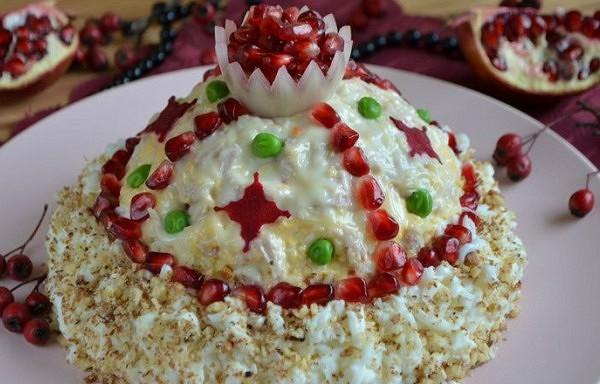 """Salāti """"Lielkņaza Monomaha cepure"""""""