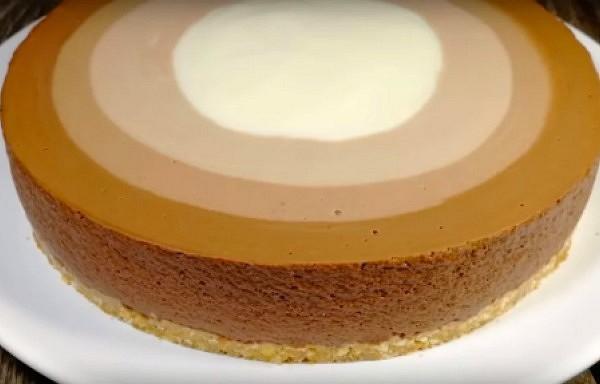 Torte varavīksne ,kuru pagatavosiet bez cepšanas