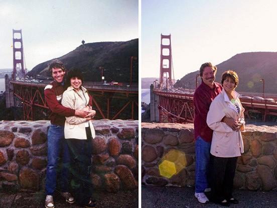 Pēc daudziem gadiem, jauna dzīvība ģimenes bildēm