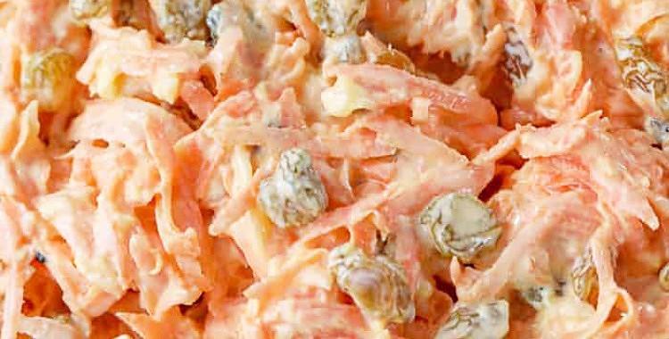 Burkānu salāti ar rozīnēm un ananasiem