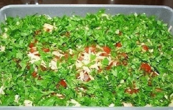 Salāti ar vārīto gaļu