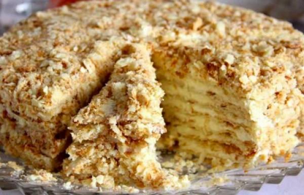 """Torte """"Svetlana""""  (bez cepeškrāsns)"""