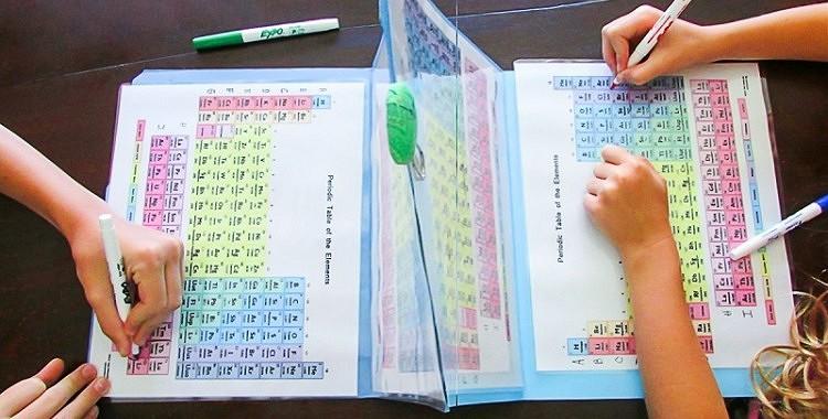 Kā viegli bērnam iemācīt  Mendeļejeva ķīmisko elementu periodisko tabulu?