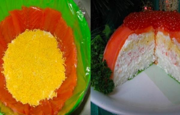 Salāti ar lasi un sieru