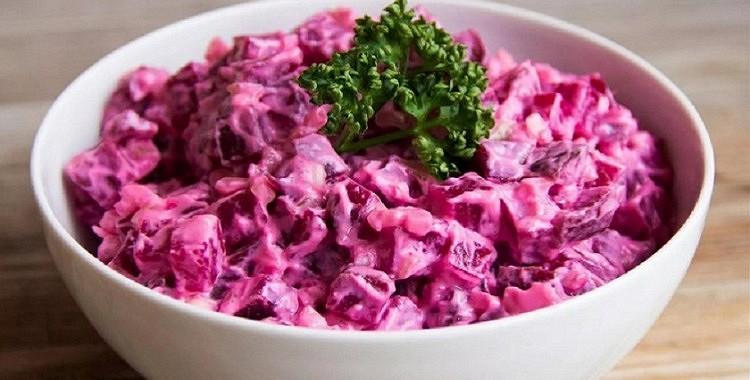 Biešu salāti ar olām