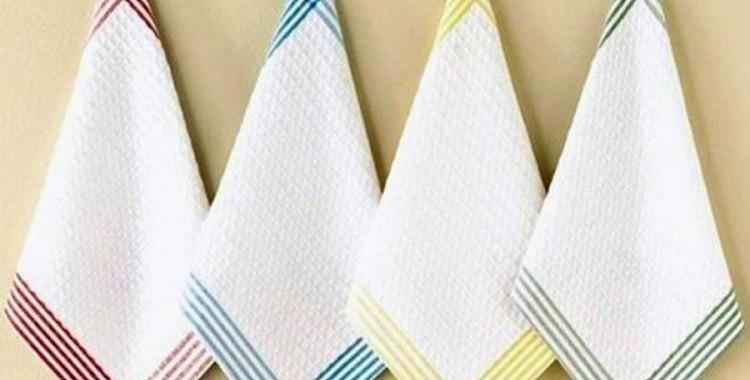 Kā izbalināt dvieļus bez  vārīšanas un veļas mašīnas