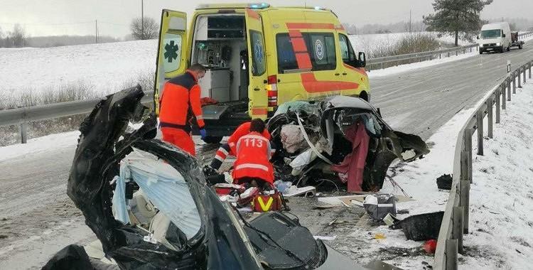 Traģiskajā avārijā, kas notika 5.martā bojā gājusi Latvijā ļoti labi zināma persona
