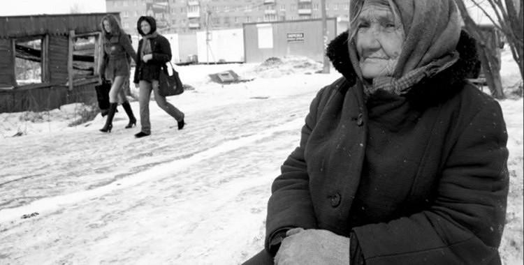 Sirmā māmuļa lūdza Dievu iedot pavisam nedaudz naudiņas ēdienam. Atbilde nebija ilgi jāgaida