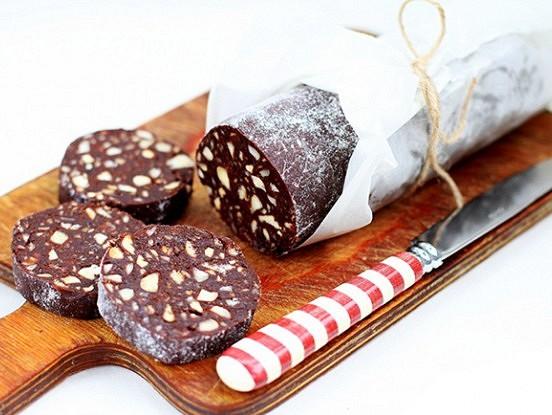 Neticami garšīga šokolādes desa
