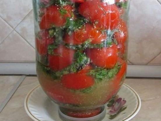 Garšīgi tomāti korejiešu gaumē