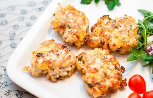Fantastiski garšīgas vistas filejas – kabaču kotletītes