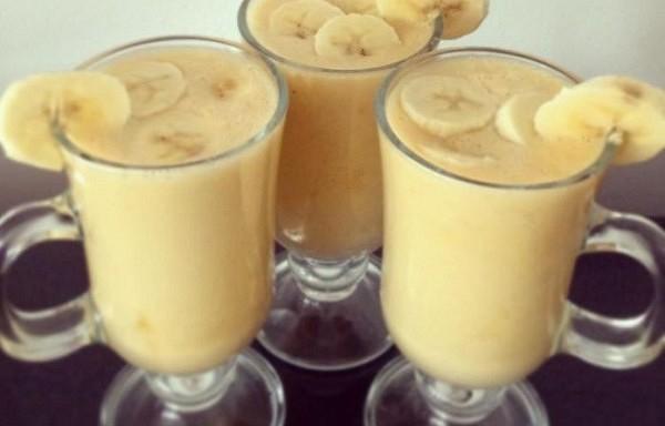 Banānu dzēriens, kas uzreiz sadedzina taukus