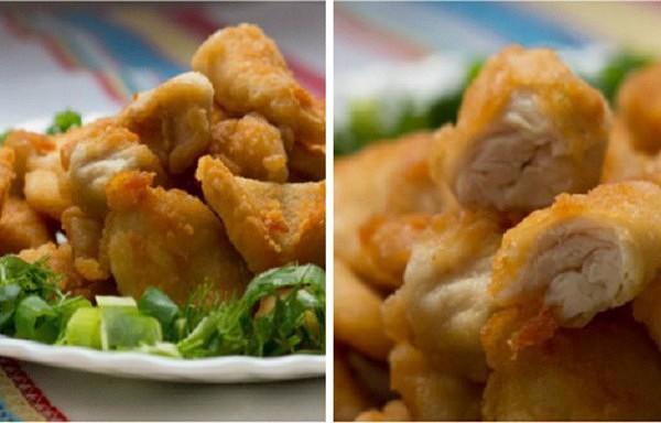 Bezgala sulīgā un garšīgā vistas fileja kraukšķīgā garoziņā