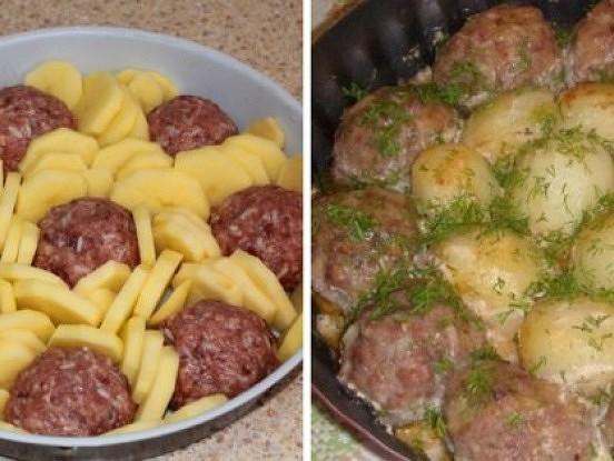 Kartupeļu – gaļas sacepums