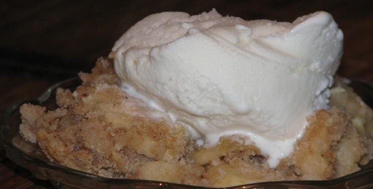 Ātrais ābolu deserts
